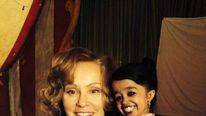 Jessica Lange and Jyoti Amge