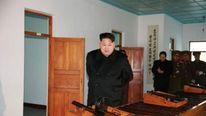 Kim Jong Un Visits Phyongchon Revolutionary Site Pic: KCNA