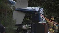 Plane crash at Williamsburg, Virginia