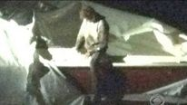 Dzhokhar Tsarnaev in the boat in a Boston backyard