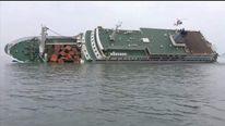 South Korea ferry coastguard video