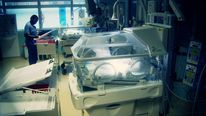 Babies in hospital