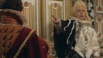 Rik Mayall as Lord Flashheart in Blackadder 2. Pic: BBC One