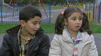 Syria Refugee Children Hussein And Alaa