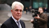 Max Clifford, on trial For 11 charges of indecent assault