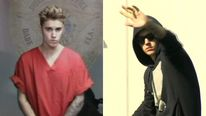 Justin Bieber in court appearance and after leaving jail