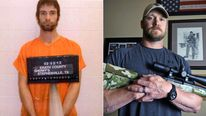 Eddie Ray Routh and Chris Kyle