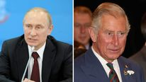 Vladimir Putin has responded to Prince Charles' Hitler comments