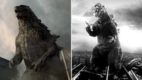 Godzilla in a scene from the film.  ©  Warner Bros and Toho Co. Ltd.