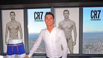 Cristiano Ronaldo's CR7 line