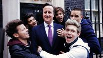 David Cameron and One Direction.