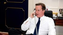 David Cameron phones Barack Obama