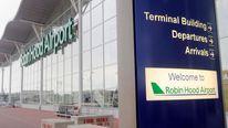 passenger terminal building at Robin Hood Airport, Doncaster,