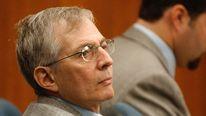 NEW YORK REAL ESTATE HEIR ROBERT DURST DURING MURDER TRIAL.