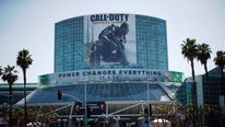 The entrance to the Convention Centre is pictured before the opening day of the Electronic Entertainment Expo, or E3, in Los Angeles