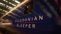 A Caledonian Sleeper carriage