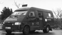 Security van allegedly robbed by 'Fast Eddie' Maher in Felixstowe in 1993