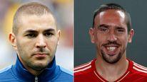 Karim Benzema & Franck Ribery