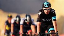 Chris Froome of Great Britain and SKY Procycling