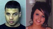 Composite of Hollie Gazzard and ex-boyfriend Asher Maslin who admitted killing her