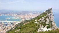 Gibraltar arial shot