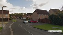 Deerhurst Place, Quedgeley, where bogus social worker examined child