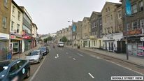 Google street view of Prince of Wales road in Norwich where a man was beaten up by two men dressed as oompa loomas.