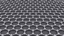 Graphene is an atomic-scale honeycomb lattice of carbon atoms (Pic: AlexanderAIUS)