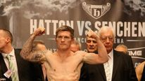 Ricky Hatton & Vyacheslav Senchenko Weigh In