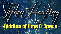 The front cover of Stephen Hawking: Riddles of Time and Space