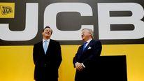 David Cameron Sir Anthony Bamford Brazil JCB plant