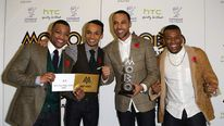 JLS winners of Best Video Mobo