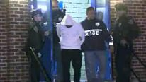 One out of four men held over the attack was charged. Pic: WCBS-TV
