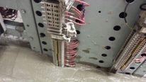 Concrete in the signal box