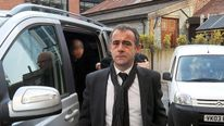 Michael Le Vell arrives at court