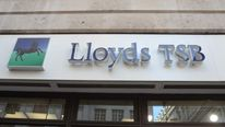 Lloyds TSB bank shop front