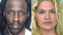 "Lottery murder - Abraham Shakespeare (L) and Dorice ""DeeDee"" Moore"