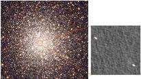 Black holes inside M22 star cluster