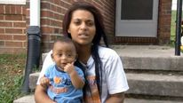 Messiah DeShawn Martin and mother Jaleesa Martin Pic: WBIR-TV