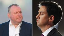 Damian McBridge and Ed Miliband