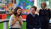 Nick Clegg and wife Miriam in Brighton