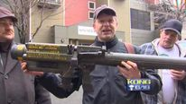 Missile Launcher Turns Up At Seattle PD Gun Buyback