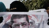 A Supporter of Egyptian President Mohammed Morsi in Cairo
