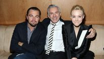 Leonardo DiCaprio, Baz Luhrmann and Carey Mulligan at a special screening of The Great Gatsby in New York