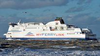 A MyFerryLink ship.