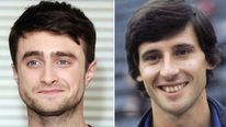 Daniel Radcliffe and Sebastian Coe
