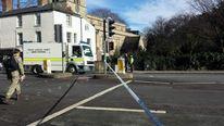 Bomb disposal van in Oxford