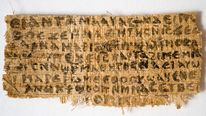 "Papyrus fragment, known as the ""Gospel of Jesus' Wife"""