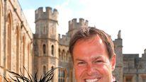 Peter Jones getting CBE in 2009