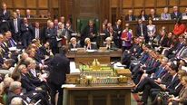 House of Commons during PMQs